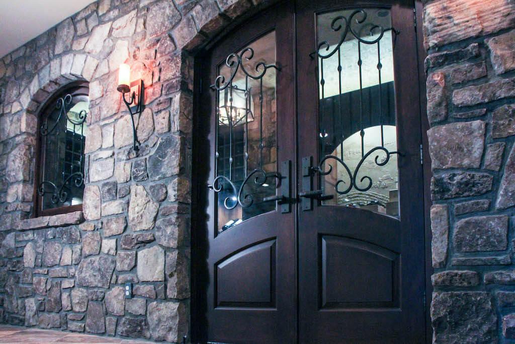 grand custom front doors
